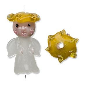 bead-lampworked-glass-white-with-yellow-hair-30x18mm-angel-sold-per-pk-p3389glb